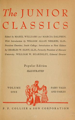 The New junior classics by Mabel Williams