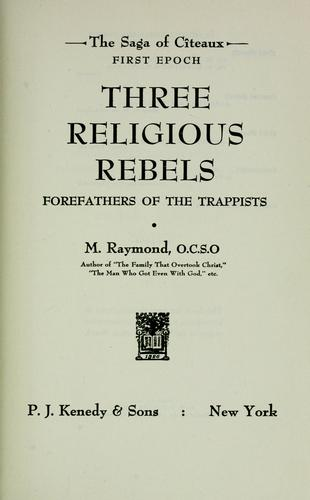 Download Three religious rebels