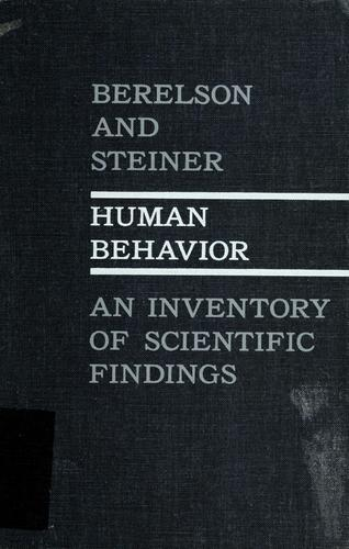 Download Human behavior
