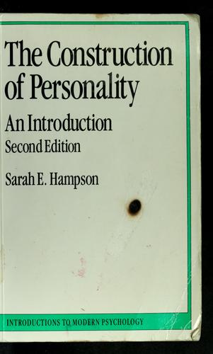 Download The construction of personality