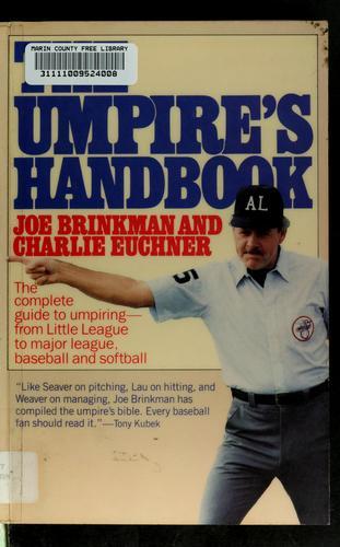 The umpire's handbook