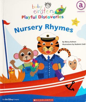 Cover of: Nursery rhymes | Marcy Kelman