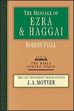 Message of Ezra and Haggai (BST) by Fyall, Robert