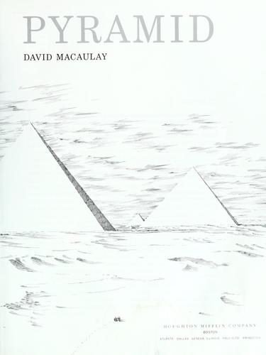 Pyramid (We the people) by David Macaulay