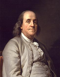 Photo of Benjamin Franklin
