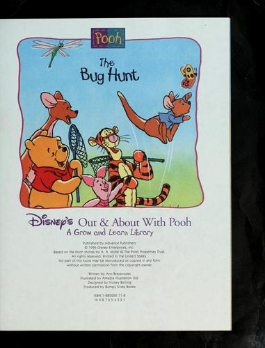 The Bug Hunt (Disney's Out & About With Pooh, Vol. 17) by Ann Braybrooks